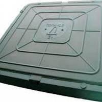 Люк легкий полімерпіщаний квадратний 600х600 зелений (1,5т) Люк легкий полімерпіщаний квадратний 600х600 зелений (1,5т) ПП