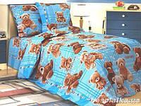 Детская постельная ткань бязь ш.150 Плюшевые мишки