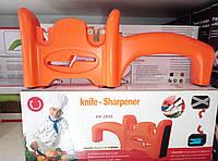 Ручная точилка на 2 отдела для ножей и ножниц