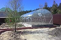 Арочная теплица фермерская (Алюминиевый Каркас) Размер: 5 х 6.2 х 3 м