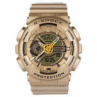 ТОП сезона ! Спортивные Часы Casio G-SHOCK GA-110 gold