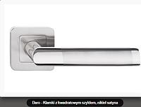 Дверная ручка  Metal-bud Daro никель сатин