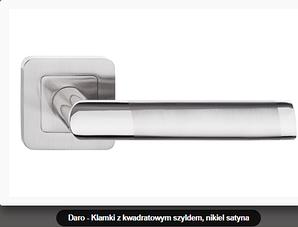 Дверная ручка  Metal-bud Daro никель- сатин