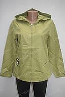 Женская куртка летняя салатовая