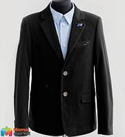 Вельветовый костюм для мальчика Lilus модель 10, цвет черный