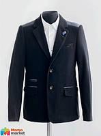 Вельветовый костюм для мальчика Lilus модель 11, цвет черный