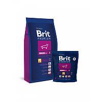 Корм для пожилых собак мелких пород Brit Premium Senior S, 1 кг
