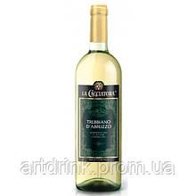 Вино белое сухое TREBBIANO D'ABRUZZO D.O.C. 0.75л