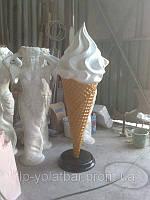 3D-муляж мороженого, пиццы, пива