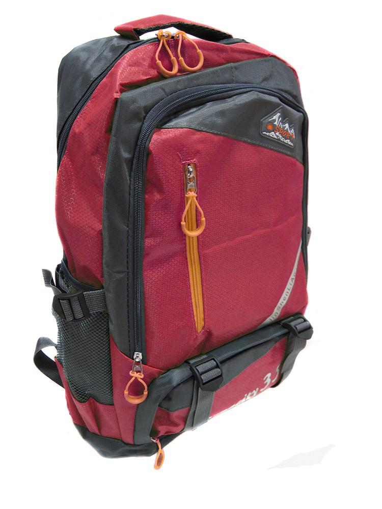 Рюкзак туристический 52*30*20см Capacity 35 R15920 Red
