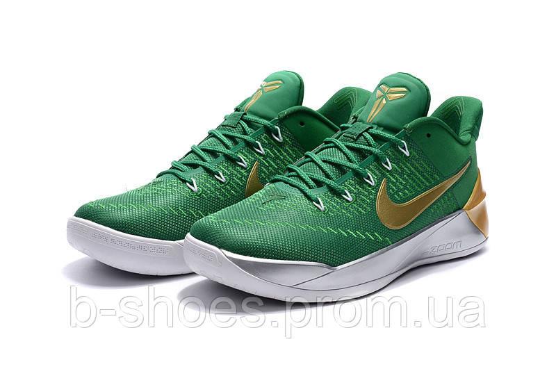 Мужские баскетбольные кроссовки Nike Kobe 12 AD (Green/Gold)