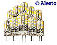 10 шт. Светодиодная LED лампа G4 3W 12V-DC 48D, Лед лампа G4 3Вт ALESTO G4 3W 3Вт 3000K 4500K 6000K