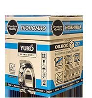 Солидол жировой, YUKO, NLGI 2/3, ойлбокс 17 кг.
