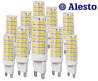 10 шт. Светодиодная LED лампа G9 7W 230 V-AC 75D, Лед лампа G9 7Вт ALESTO G9 7W 7Вт 3000К 6000К