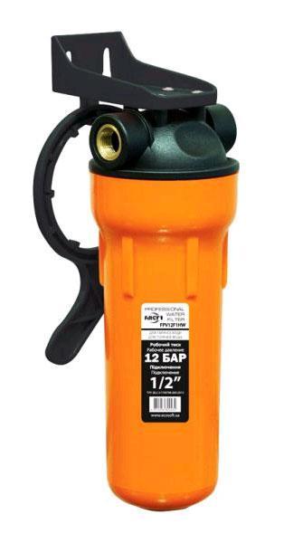 """Фильтр механической очистки 2,5х10"""" для горячей воды, 1/2"""""""