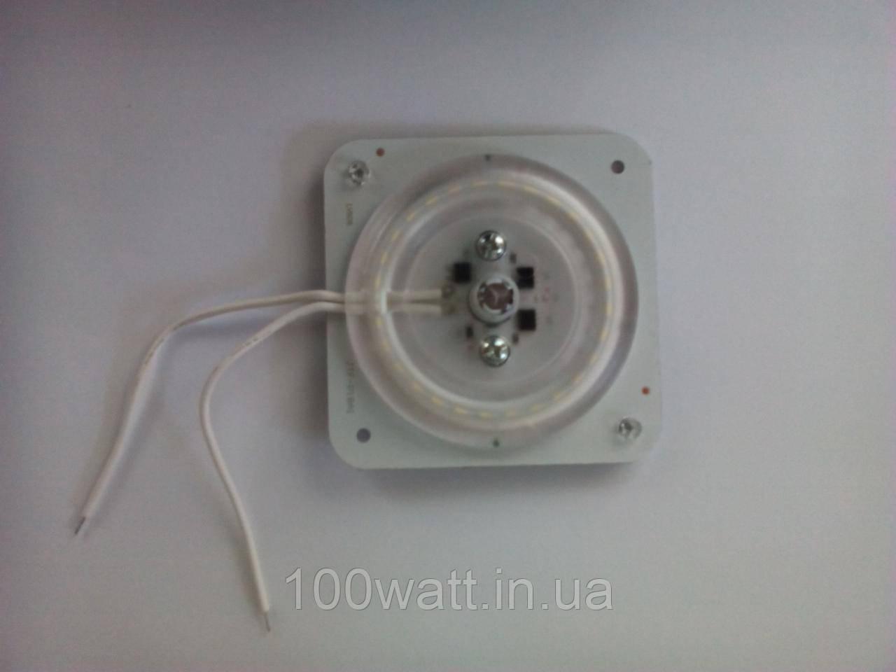 Светодиодная пластина 12W 18LED 220V с магнитами ST695