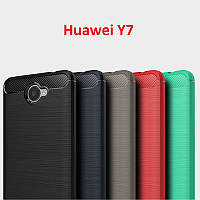 TPU чехол накладка Urban для Huawei Y7  (5 цветов)