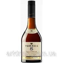 Torres 5 y.o. Brandy 0.7L