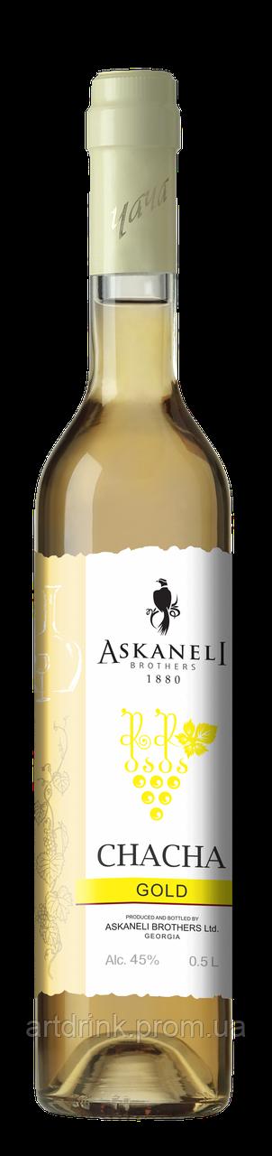 Чача  Askaneli Gold 0.5L 40% alc.