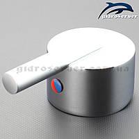 Ручка для змішувача душової кабіни, гідромасажного боксу RS-02 з квадратним посадочним місцем., фото 1