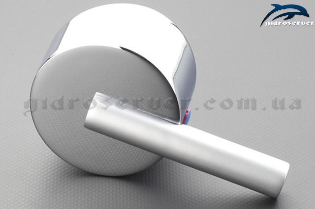 Ручка для змішувача (холодної - гарячої води) душової кабіни, гідромасажного боксу RS-02 з квадратним посадочним місцем.