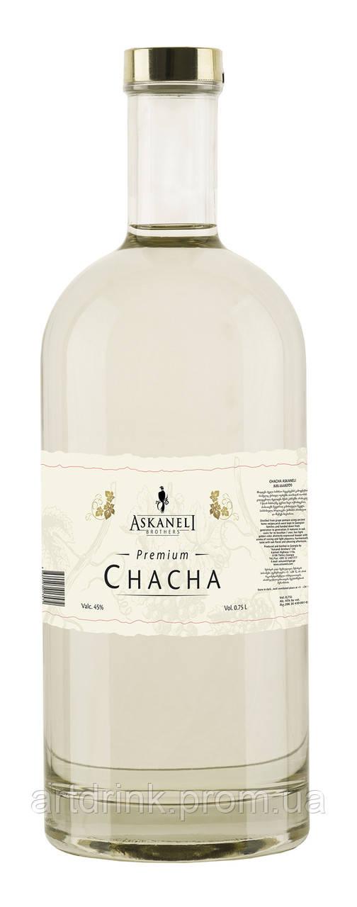 Чача Askaneli Premium (асканели Премиум) 0.75L 40% alc.