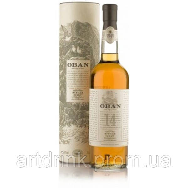 Oban Distillery Oban 14 years old 43% 0.7L