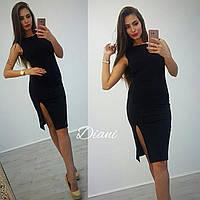 Вечернее платье с разрезом, фото 1