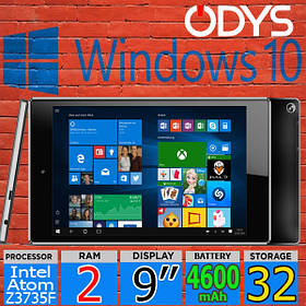 Планшет на Windows 10 -Odys COSMO WIN X9- 2GB/32GB intel