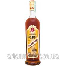 Ужгородский коньячный завод Tisa Cognac Zakarpatskiy 4yo 0.5L