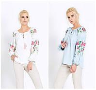 Женская блуза  в украинском стиле. 2 цвета!