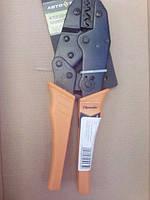 Клещи SPARTA с храповым механизмом 0, 5–10 мм, для обжима электрокабеля SPARTA