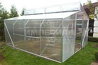 Двускатная теплица Миттлайдера (Алюминиевый Каркас) Размер: 3 х 4.1 х 2.5 м