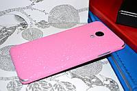 """Виниловая наклейка """"Розовая алмазная крошка"""" Meizu M3S (задняя часть) 0,11 mm"""