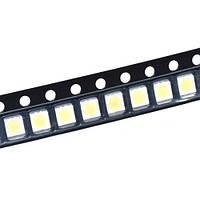 100x Светодиод SMD 5630 SPBWH1532S1ZVC1BIB для подсветки 3В 0.5Вт 50-55лм, белый (набор из 100 штук)