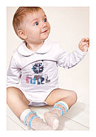 Детские капроновые носки Olcia ТМ Aleksandra оптом, Польша р.2-5 лет (белый)