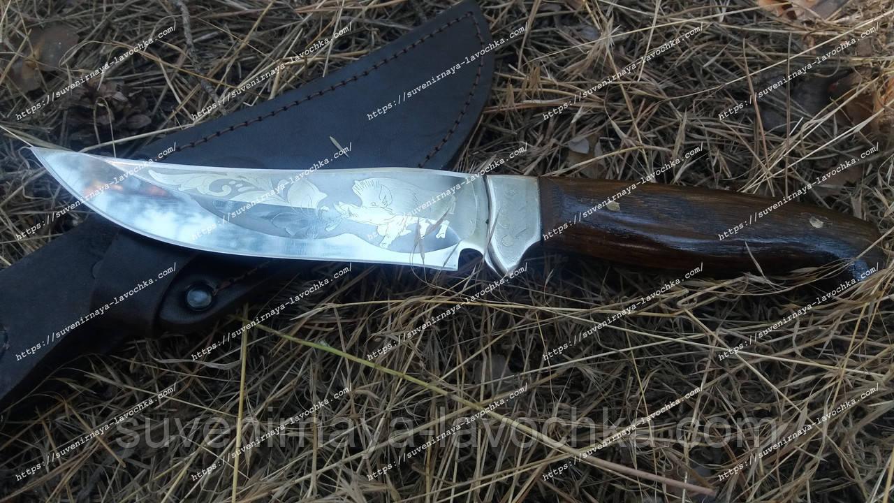 Нож охотничий Хантер М надежный