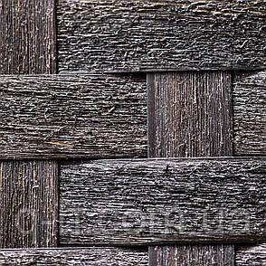 Диван плетеный трехместный Taken из ротанга искусственного коричневый, фото 2