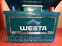 Акумулятор автомобільний Б/У Westa 6CT-60 АзЕ Premium
