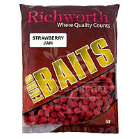 Бойлы Richworth Euro Baits New 1кг 15мм Strawberry Jam