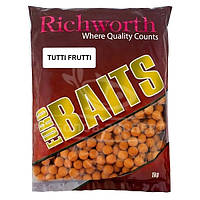 Бойлы Richworth Euro Baits New 1кг 15мм Tutti-Frutti