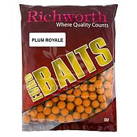 Бойлы Richworth Euro Baits New 1кг 20мм Plum Royal