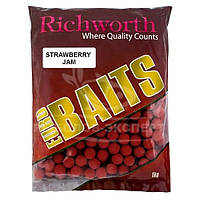Бойлы Richworth Euro Baits New 1кг 20мм Strawberry Jam