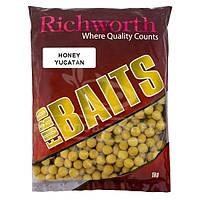 Бойлы Richworth Euro Baits New 1кг 20мм Honey Yucatan