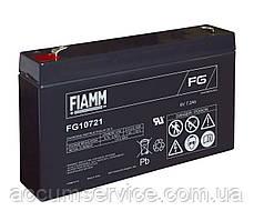 Акумулятор FIAMM FG 10721 - 6V 7.2Ah