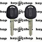 Корпус авто ключа под чип для Chevrolet (Шевролет) Aveo Lacetti лезвие DWO4R