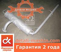 Глушитель ЗАЗ ТАВРИЯ 1102 с трубой (ДК) 1102-1201005-03