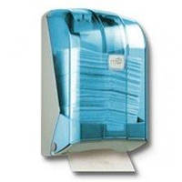 Раздатчик складных бумажных полотенец прозрачный