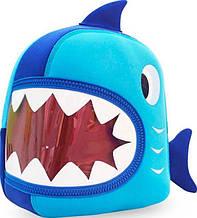Великолепный рюкзачок акула Nohoo NH024, синий 5 л