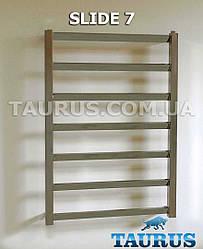 Нержавеющий полотенцесушитель с перемычкой под углом 30 градусов - Slide 7/750х500 мм. Taurus. Украина